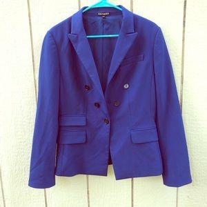 Express blue blazer size 10